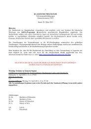 Vorlesungsverzeichnis SS 2012 - Seminar für Klassische Philologie