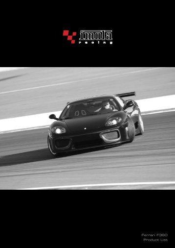 Ferrari F360 Product List - Dimex Group