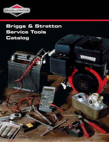 Briggs & Stratton Service Tools Catalog