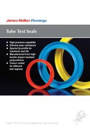 Tube Test Seals - James Walker