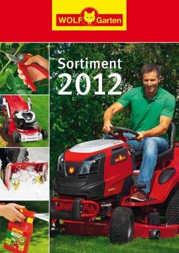 Wolf Garten Katalog 2012 - Klaus-Häberlin AG