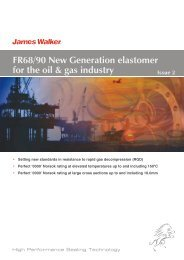 FR68/90 New Generation elastomer for the oil & gas ... - James Walker