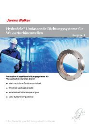 HydroSele® Dichtungss.Turbinen 3 - James Walker