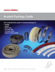 Braided Packings Guide USA - James Walker
