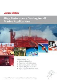 High Performance Sealing for all Marine Applications