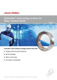 HydroSele® total sealing systems for Water Turbine ... - James Walker