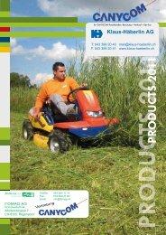 Canycom Katalog 2011 - Klaus-Häberlin AG