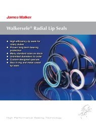 Walkersele® Radial Lip Seals