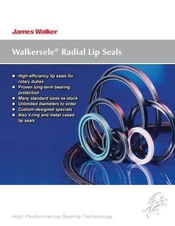 Walkersele® Radial Lip Seals