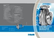Chemiekreiselpumpe nach DIN EN ISO 2858 - SLM NV - Klaus Union