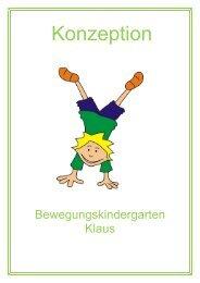 Konzeption des Kindergartens - Gemeinde Klaus