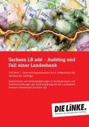 Untersuchungsausschuss zur Sachsen LB - Fraktion DIE LINKE im ...