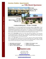 marketing package - Kasten Long Commercial Group