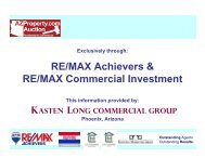 RE/MAX Achievers & RE/MAX Commercial Investment