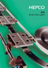 DTS driven track system - Brd. Klee A/S