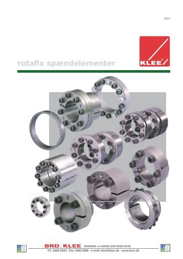 Rotafix dansk katalog - Brd. Klee A/S