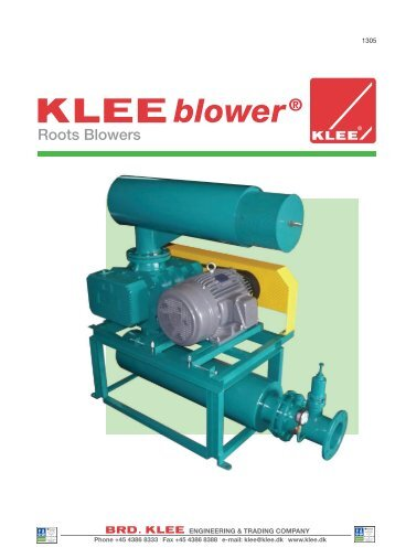 Roots Blowers - Brd. Klee A/S