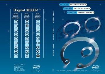 Original SEEGER ® Original SEEGER ® - Brd. Klee A/S