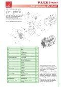 KLEEblower lamelpumper - Brd. Klee A/S - Page 7