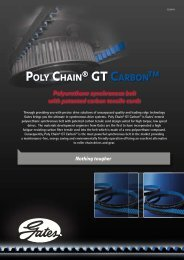 Poly Chain ® GT Carbon