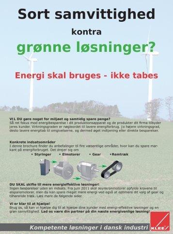 Læs mere om dine muligheder for at energioptimere ... - Brd. Klee A/S