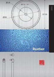 NYT – Katalog med RUSTFASTE produkter - Brd. Klee A/S