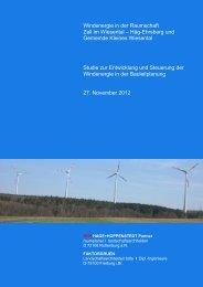 Studie_Windenergie_Zell i W Häg-Ehrsberg u ... - Kleines Wiesental