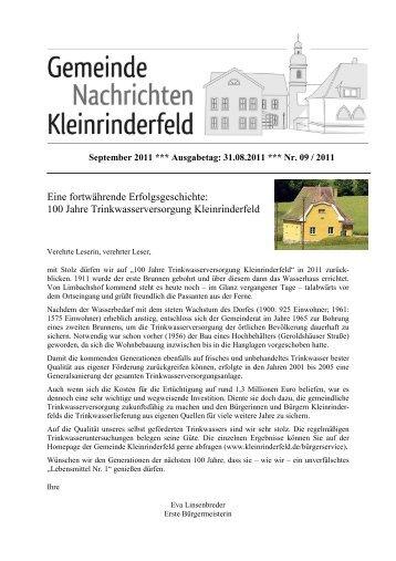09 - September 2011 - Gemeinde Kleinrinderfeld
