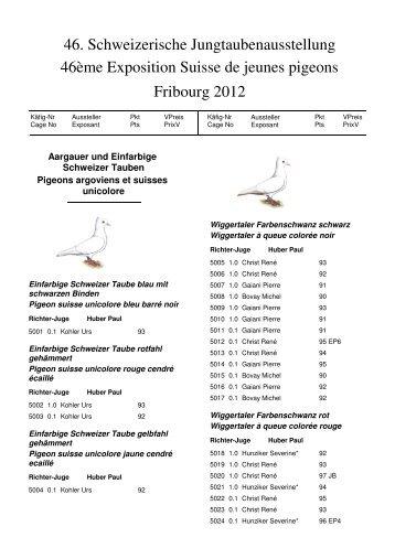 Katalog - Kleintiere Schweiz