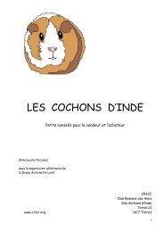 LES COCHONS D'INDE - Kleintiere Schweiz