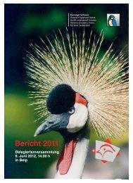 Bericht 2011 - Kleintiere Schweiz