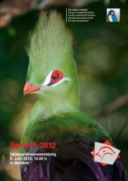 Bericht 2012 - Kleintiere Schweiz