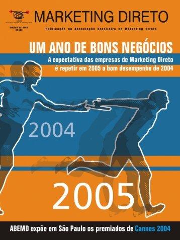 Revista Marketing Direto - ABEMD - Associação Brasileira de ...