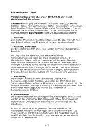 Protokoll 11.01.2008 - Kleintiere Schweiz