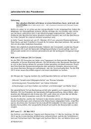 Jahresbericht 2012 - Kleintiere Schweiz