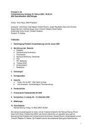 Protokoll 25.02.2006 - Kleintiere Schweiz