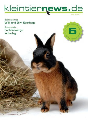 kleintiernews.de 10/2011 - Kaninchen