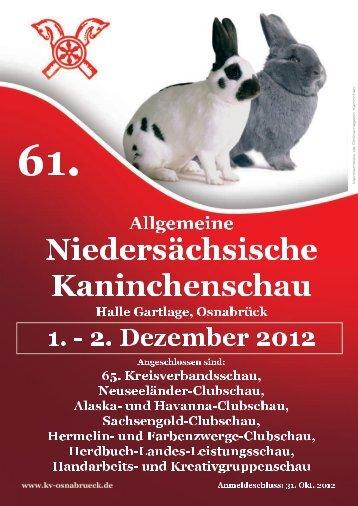 Katalog 2012 - Kaninchen