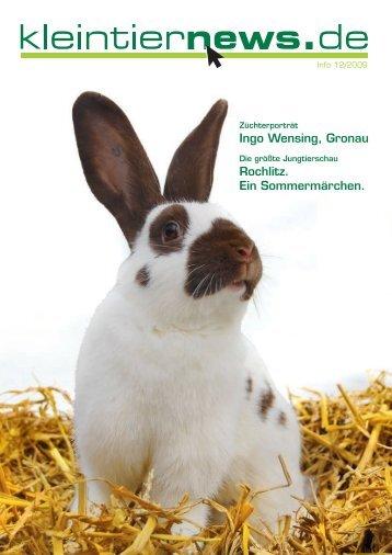 kleintiernews.de 12/2009 - Kaninchen