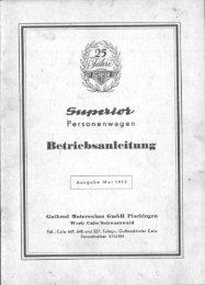 Gutbrod Superior - Kleinwagen Freunde Schiefbahn
