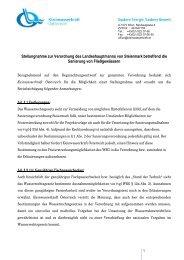 Stellungnahme Sanierungsverordnung Stmk - Kleinwasserkraft ...