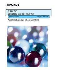 SIMATIC Zählerbaugruppe FM 350-2