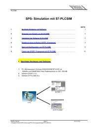 SPS- Simulation mit S7-PLCSIM