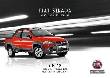 Preisliste - Fiat Professional