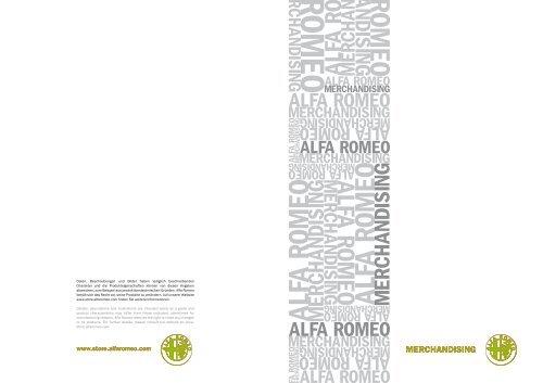 Merchandising Merchandising - alfa romeo service ch