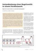 Instandsetzung eines Regelventils in einem Fernheizwerk ... - Page 2