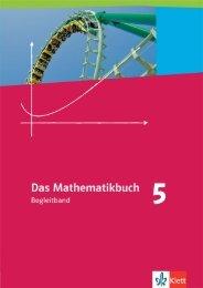 Vorabversion (PDF Datei, 672 kB) - Ernst Klett Verlag