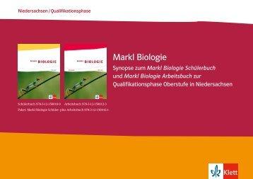 Markl Biologie Synopse Niedersachsen Qualifikationsphase (PDF ...