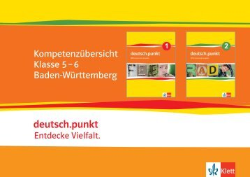 dpunkt_Kompetenzuebersicht_Kl5-6_BW.pdf - Ernst Klett Verlag