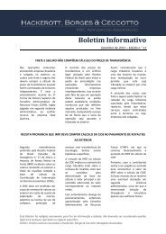 Boletim Informativo - Abrinstal